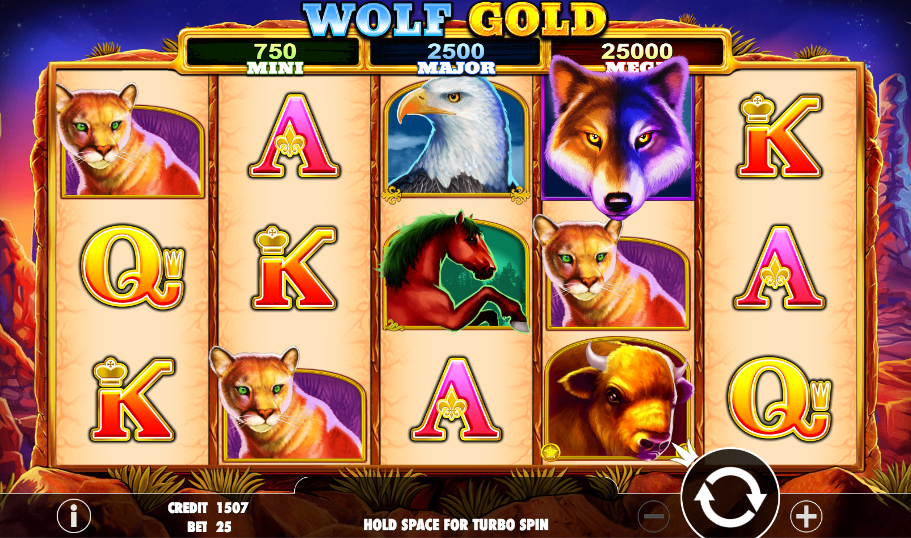 wolf gold screenshot