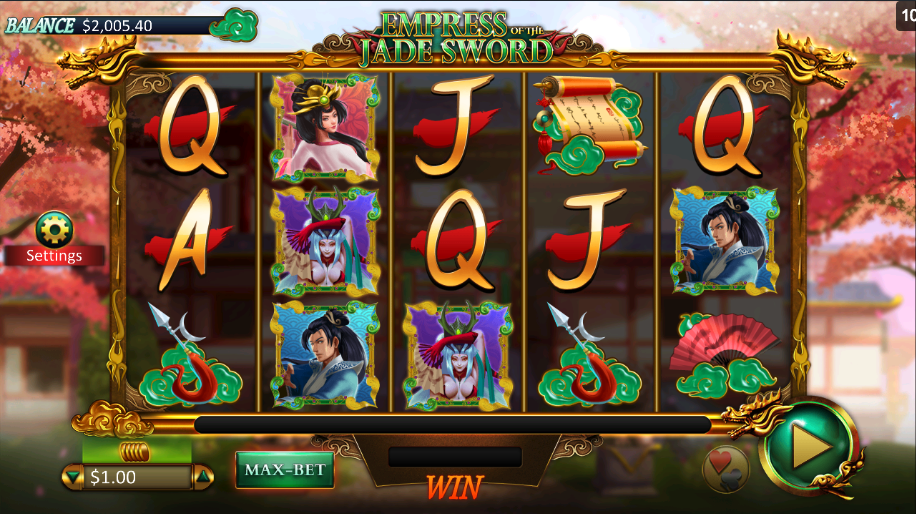Empress of the Jade Sword Slots - Play for Free Online Today