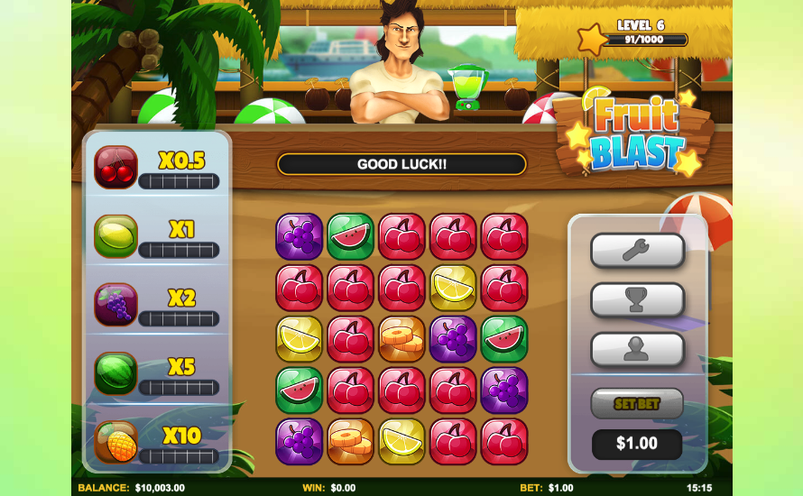 fruit blast screenshot