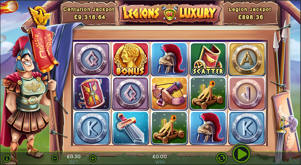 legions of luxury screenshot
