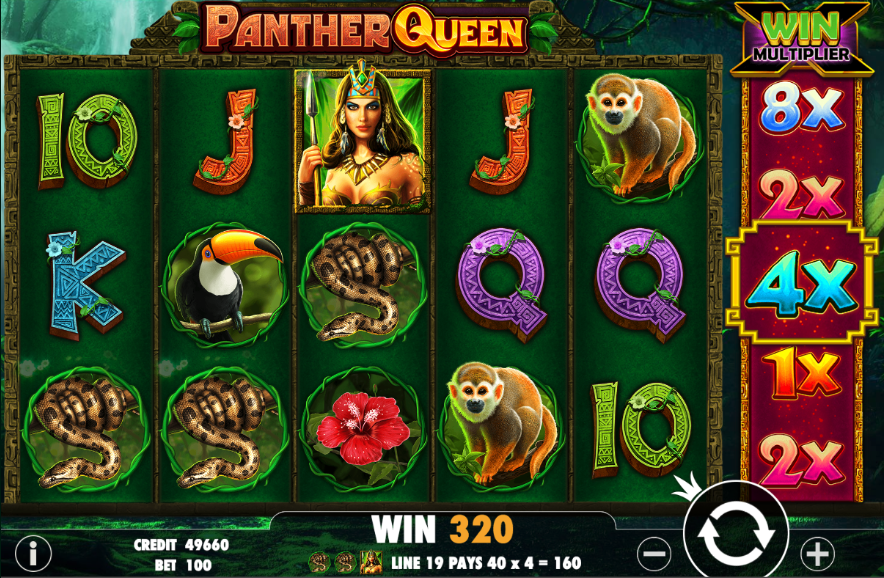 panther queen screenshot