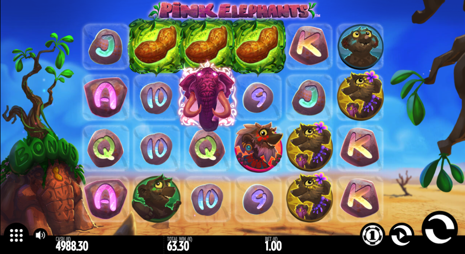 pink elephants screenshot