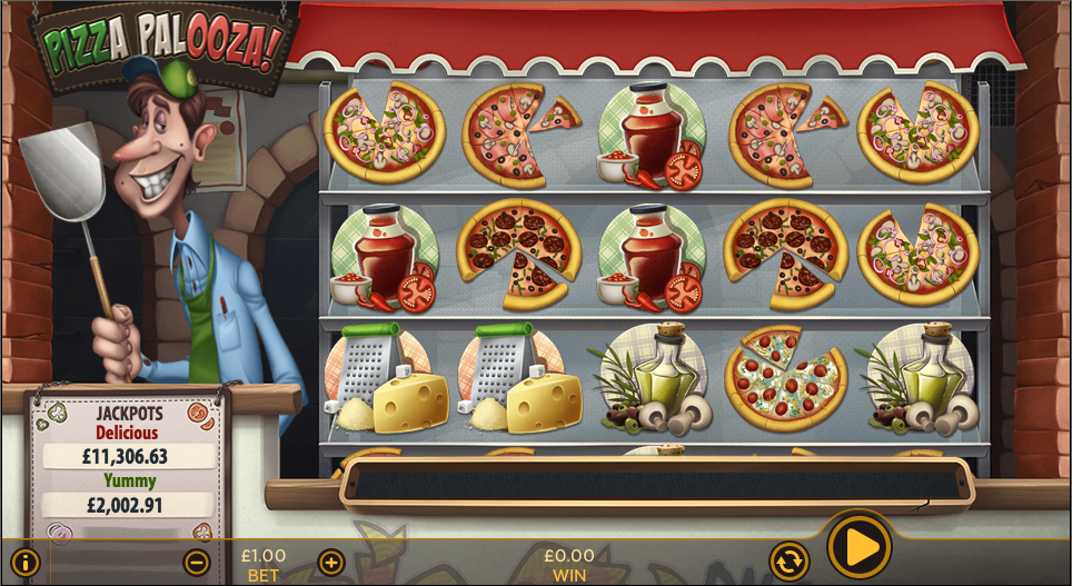 pizza palooza! screenshot