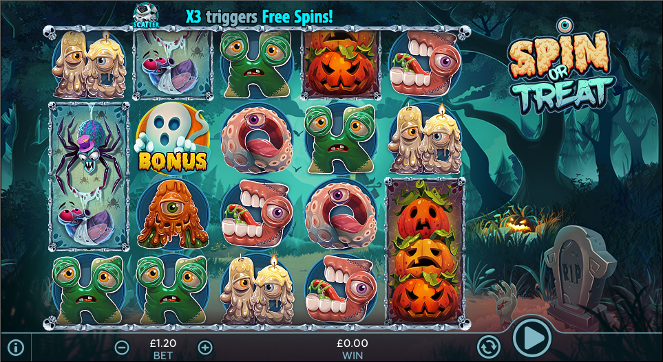 spin or treat screenshot