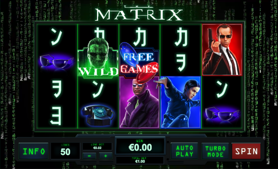 the matrix screenshot