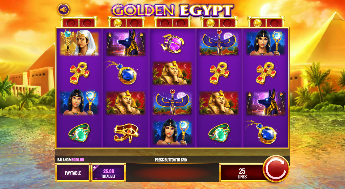 golden egypt screenshot