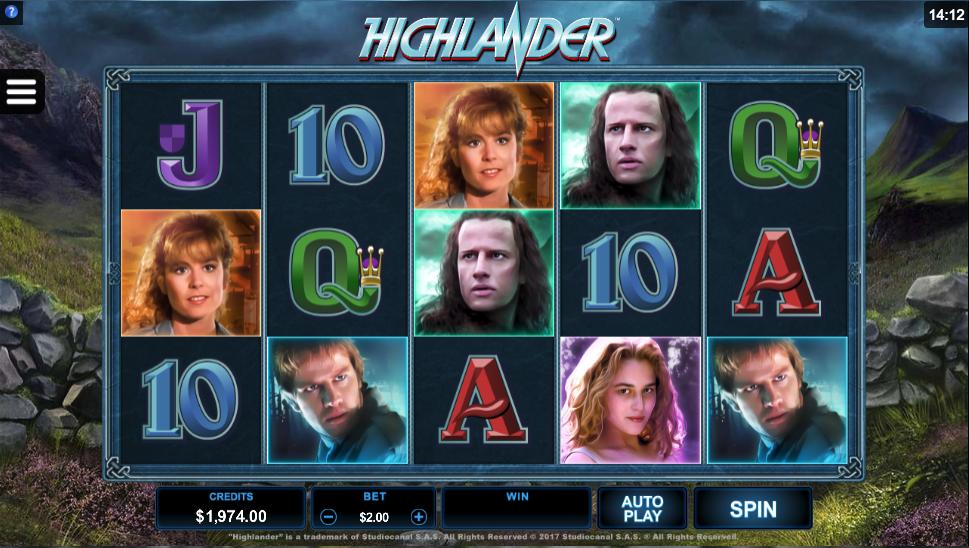highlander screenshot