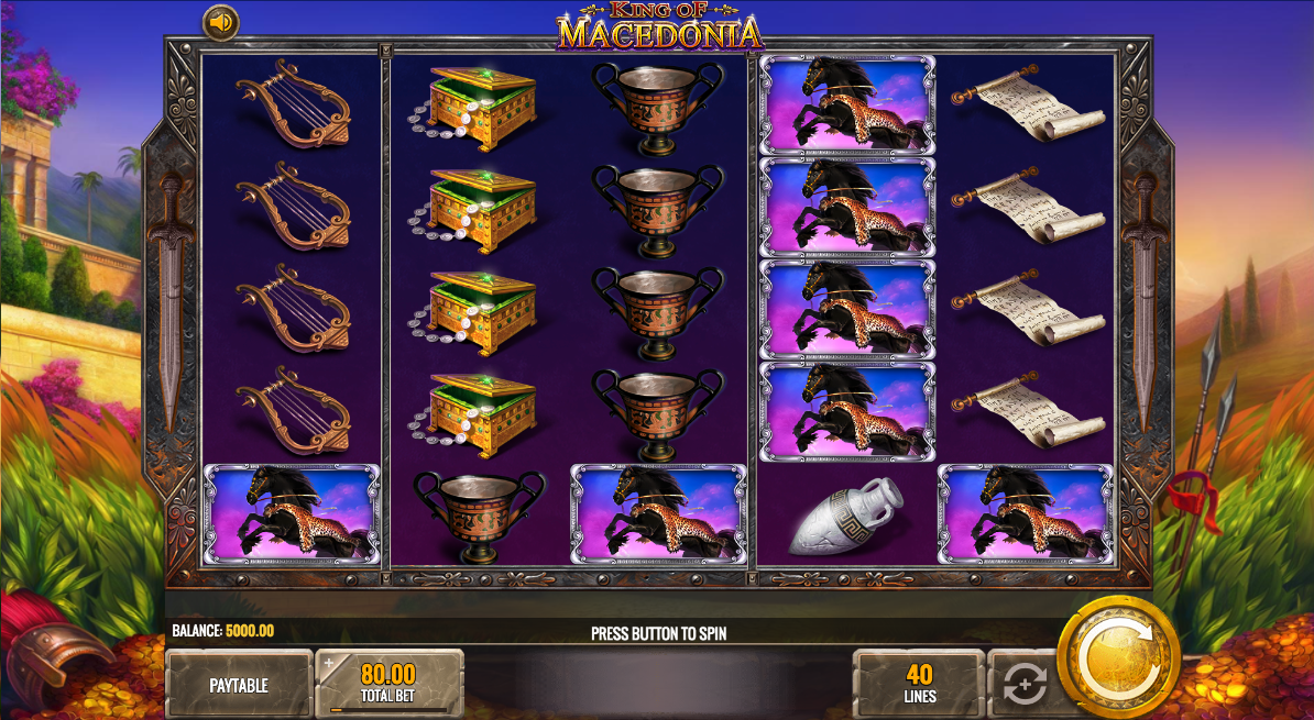 King of Macedonia Slots - Find Out Where to Play Online