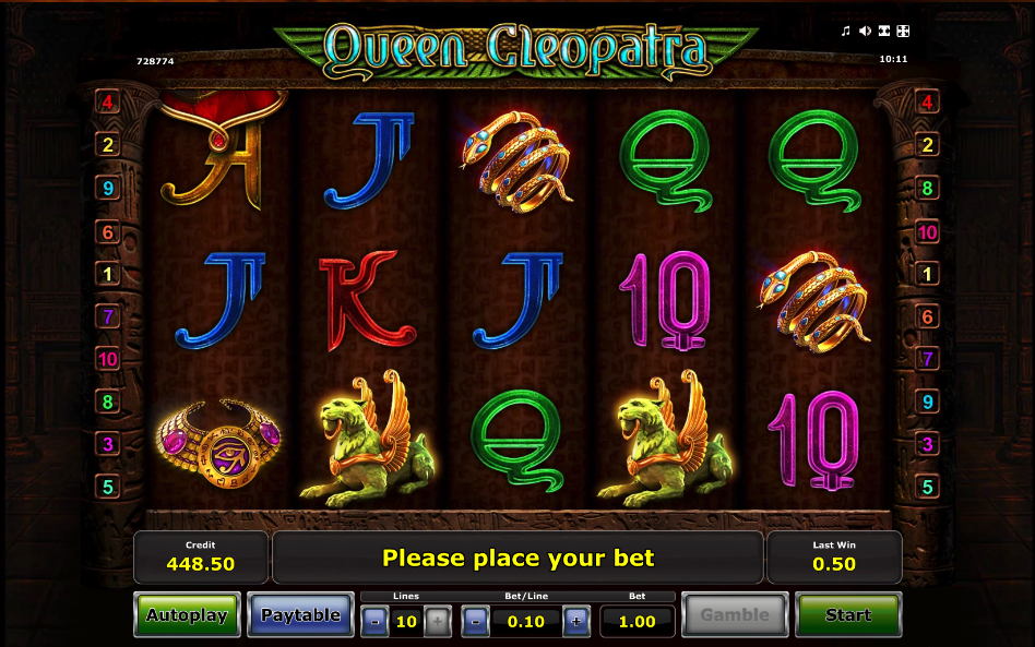 queen cleopatra screenshot