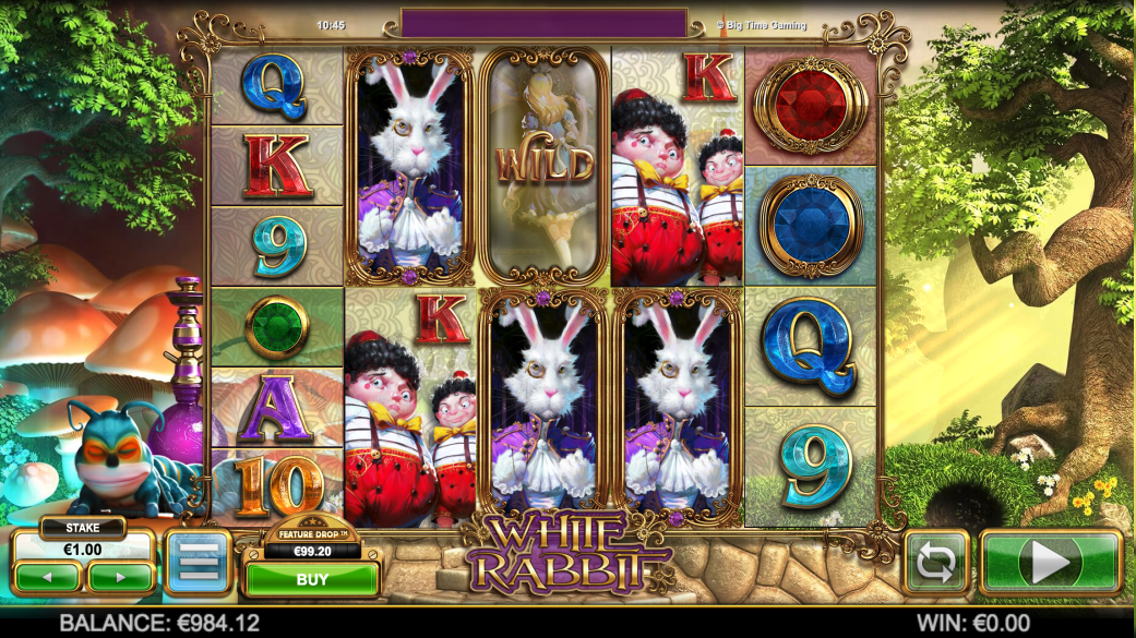 white rabbit screenshot