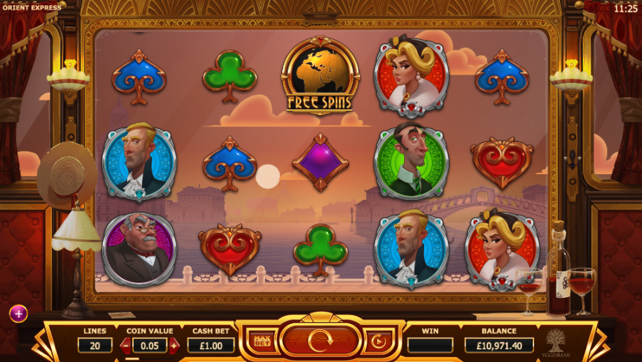 Orient Express Slot™ Slot Machine Game to Play Free in WGSs Online Casinos