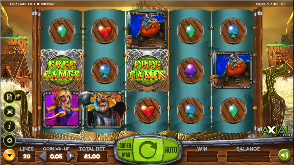 Spiele The Vikings - Video Slots Online