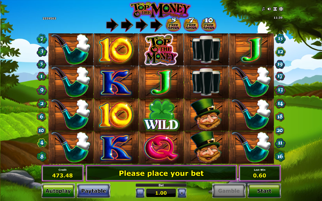 top o the money screenshot
