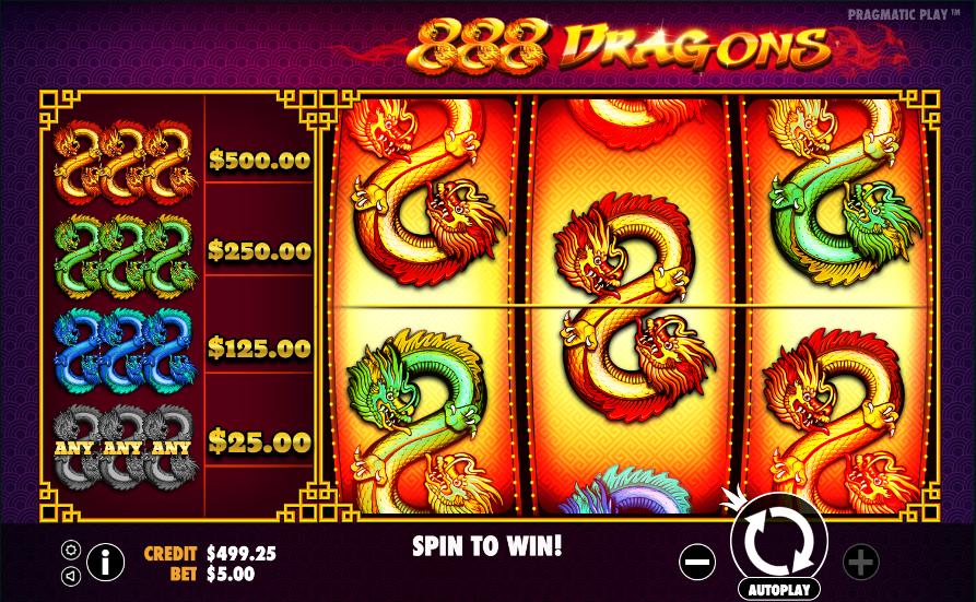 888 dragons screenshot