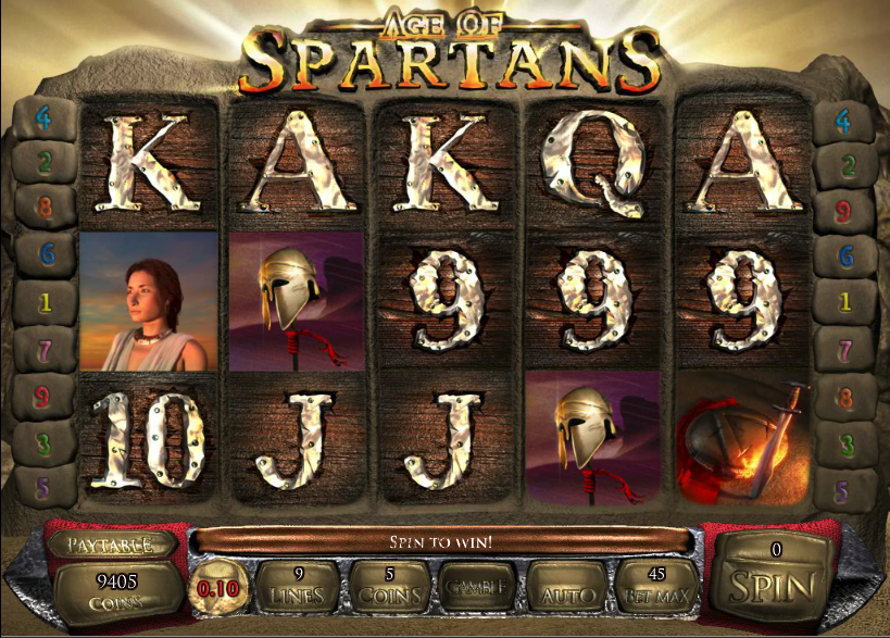 age of spartans screenshot