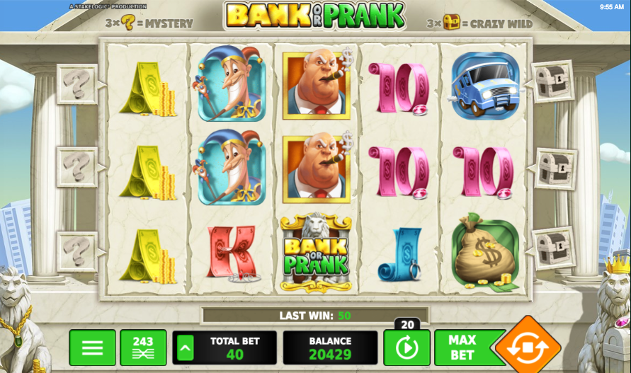 bank or prank screenshot