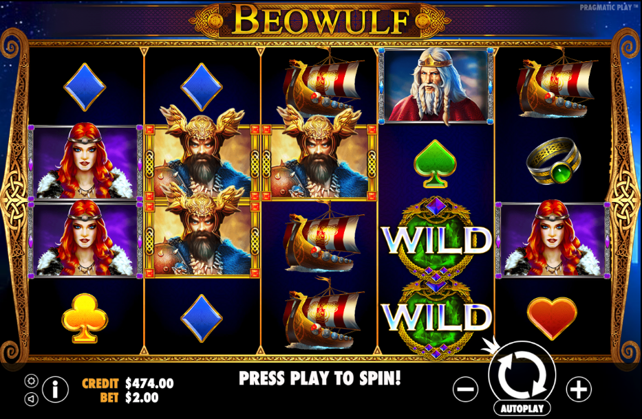 beowulf screenshot