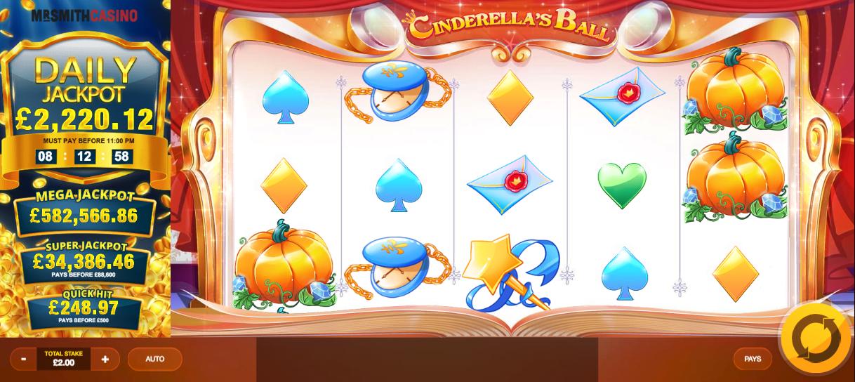 cinderellas ball screenshot