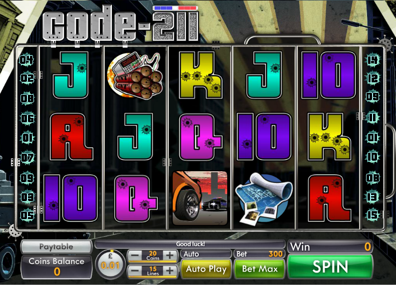 Spiele Code 211 - Video Slots Online