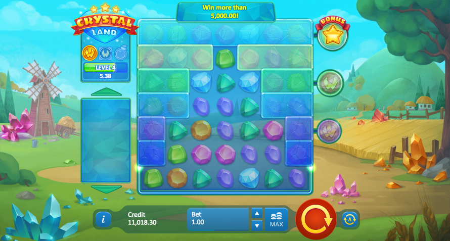 crystal land screenshot
