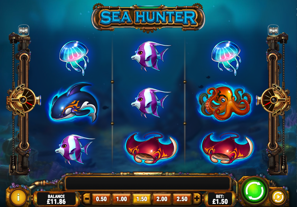 sea hunter screenshot