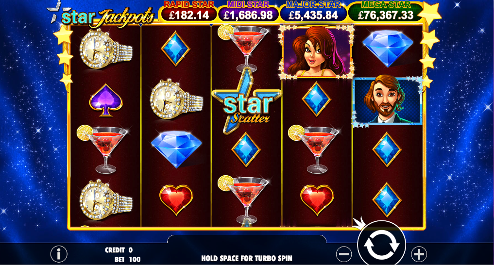 star jackpots screenshot