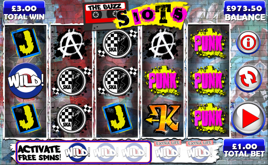 the buzz slots screenshot