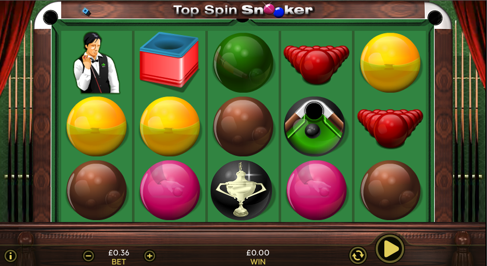 top spin snooker screenshot