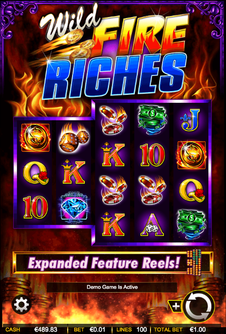 wild fire riches screenshot