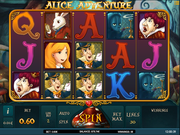 alice adventure screenshot