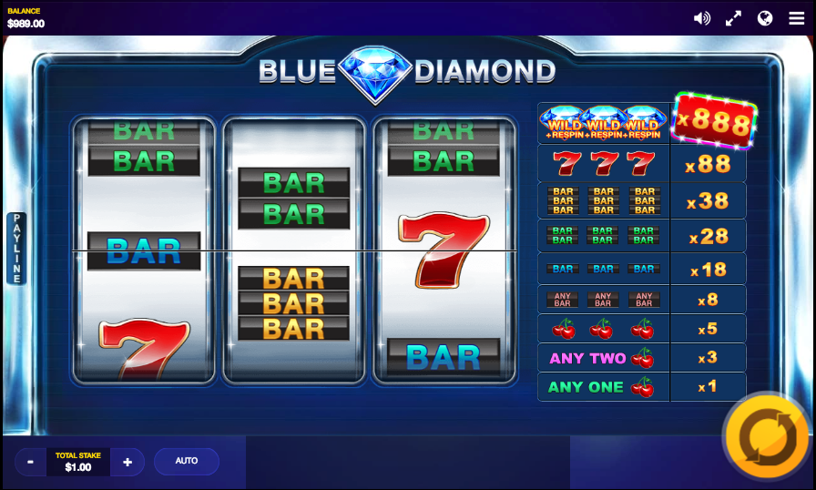 Spiele Blue Diamond - Video Slots Online