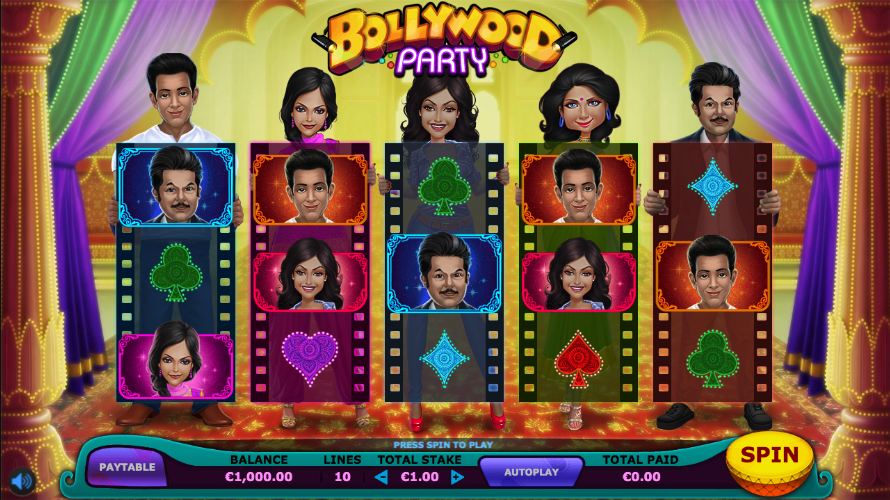 bollywood party screenshot