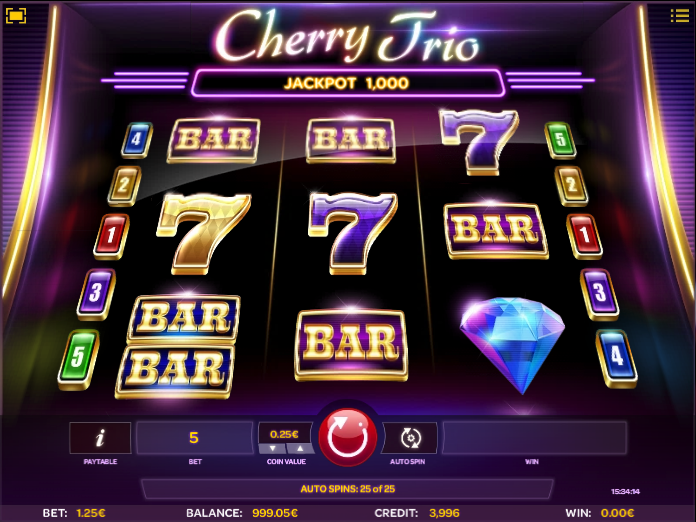 cherry trio screenshot