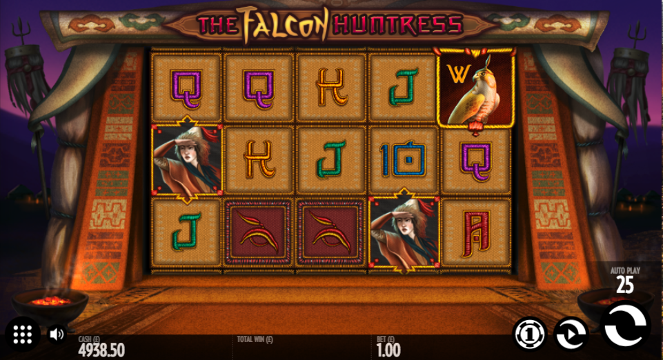 the falcon huntress screenshot