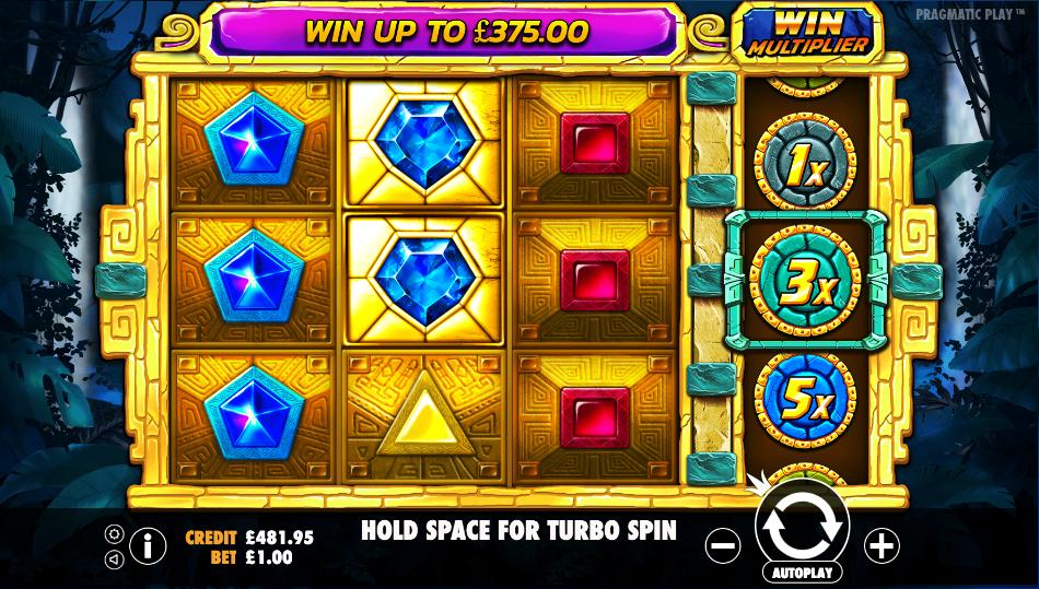 aztec gems screenshot