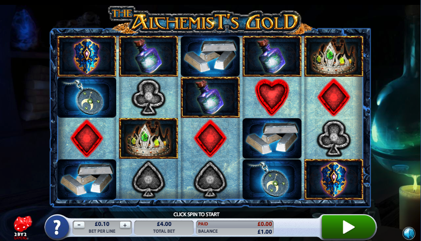 the alchemists gold screenshot