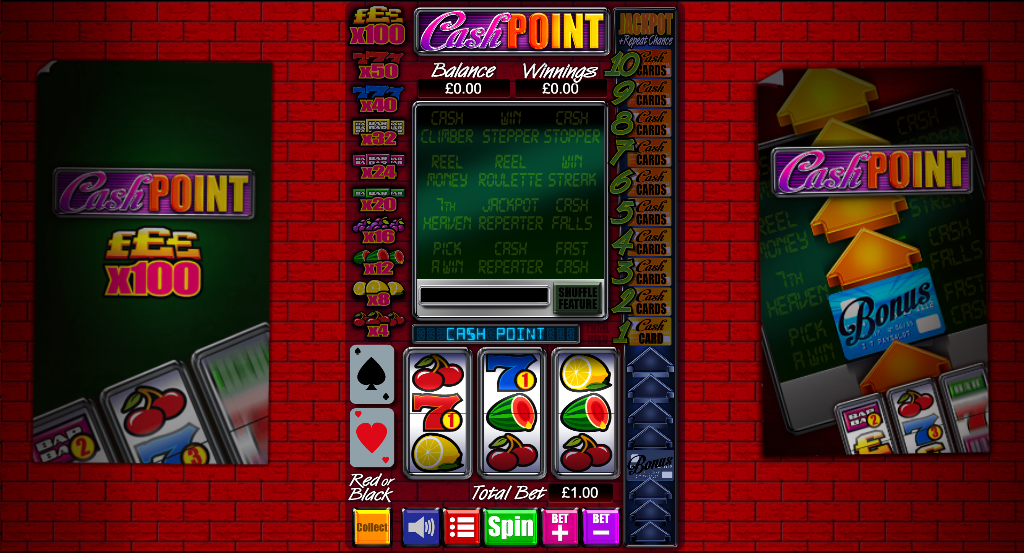 cash point screenshot