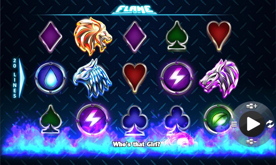 flame screenshot