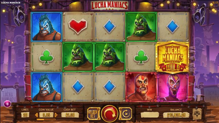 lucha maniacs screenshot