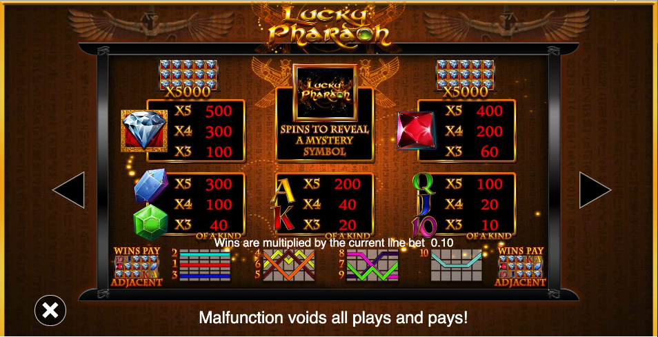 Spiele Lucky Pharaoh - Video Slots Online