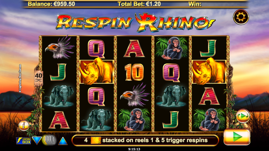 Spiele Respin Rhino - Video Slots Online
