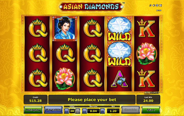 asian diamonds screenshot