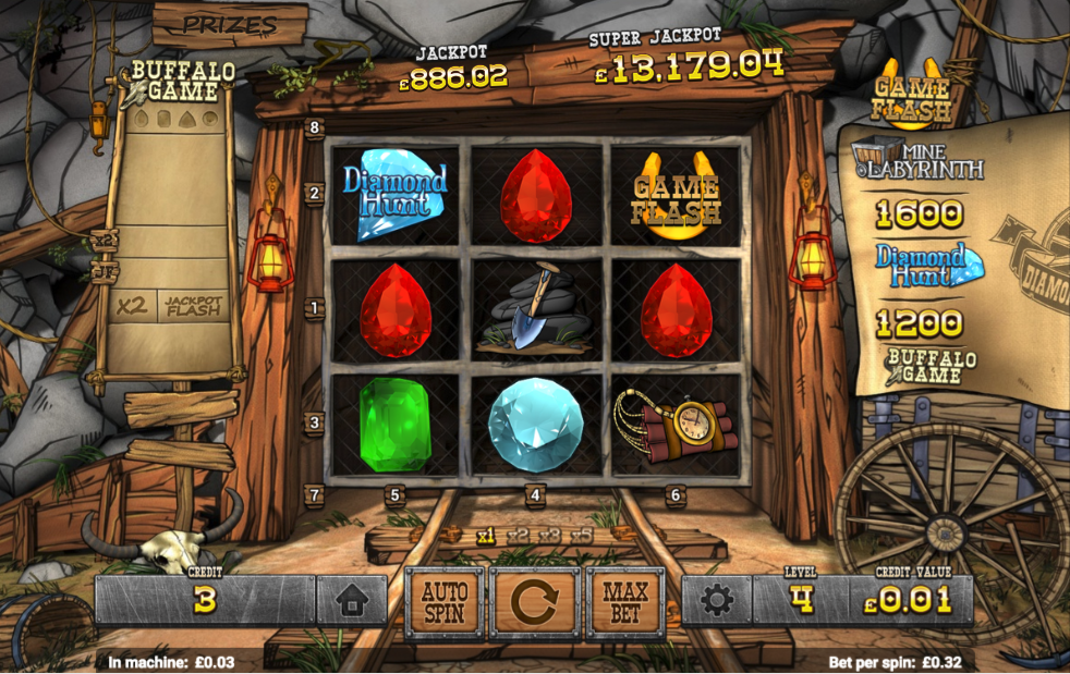 diamond express screenshot