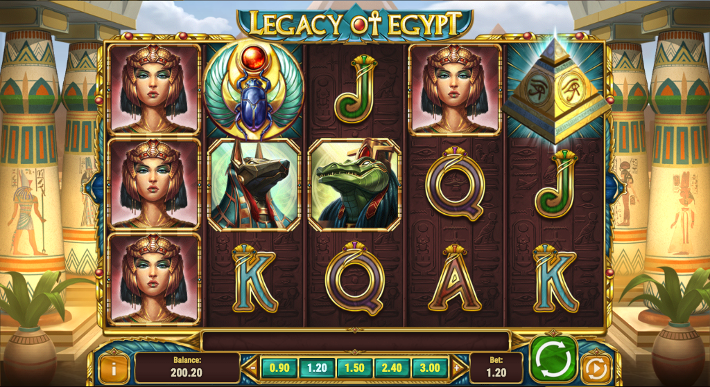 legacy of egypt screenshot
