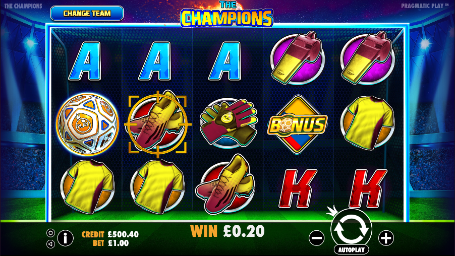 the champions screenshot