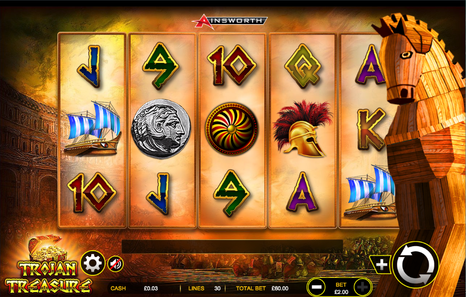 trojan treasures screenshot