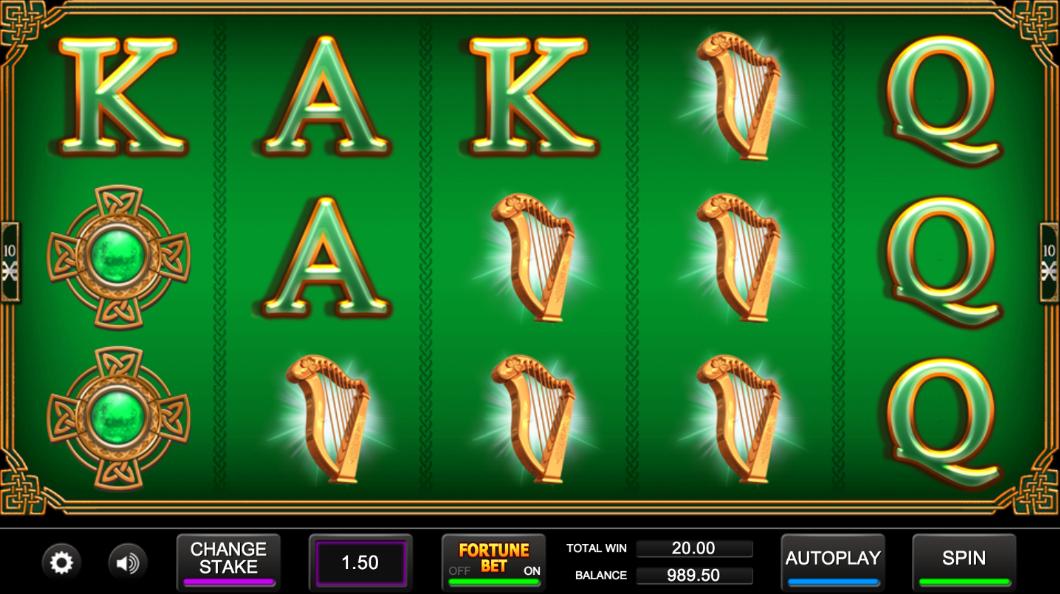 irish fortune screenshot
