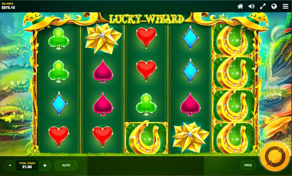 lucky wizard screenshot