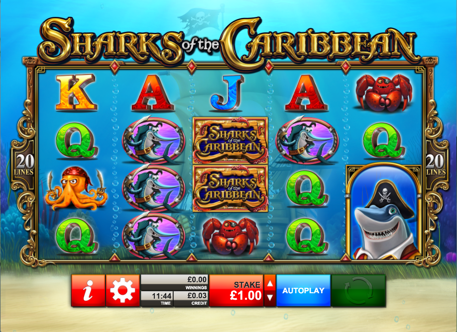 sharks of the caribbean screenshot