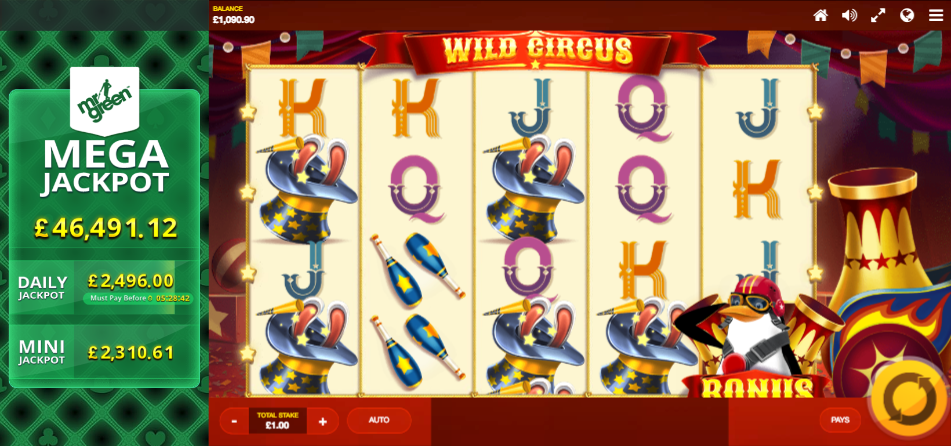 wild circus screenshot